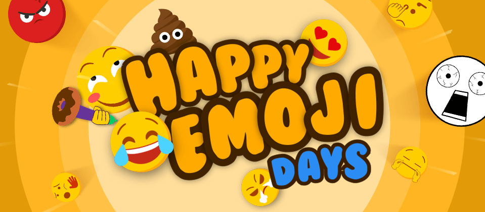 World emoji day - 17 July  IMAGES, GIF, ANIMATED GIF, WALLPAPER, STICKER FOR WHATSAPP & FACEBOOK